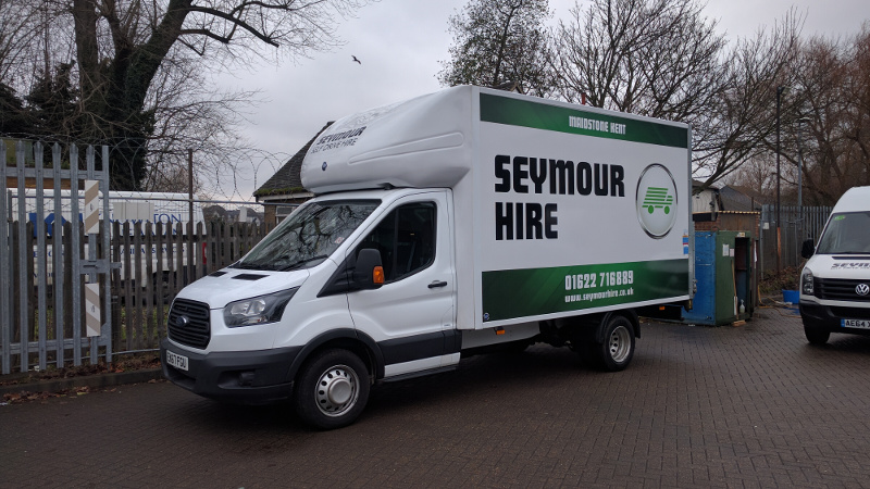 Luton Van with Tail-lift [Group LV01] - Van & Car Rental/Hire